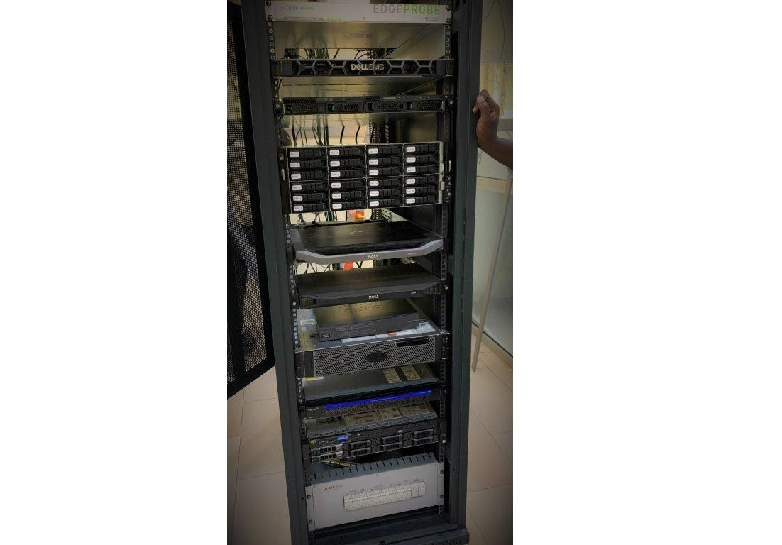 CAS and NAS systems in Burkina's DTT Headend